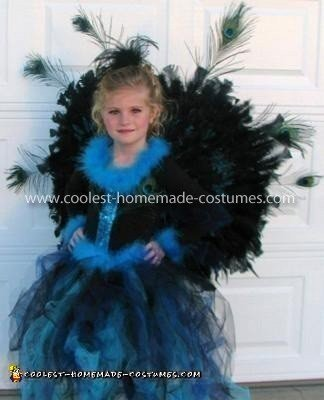 Coolest Peacock Costume