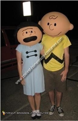 Peanuts Couple Costume