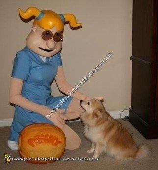 Homemade Penny Cartoon Halloween Costume Idea