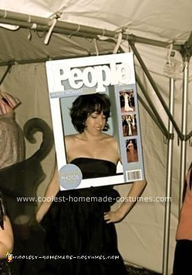 Homemade People Magazine Cover Halloween Costume