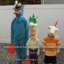 Coolest Phineas, Ferb and Perry Costumes 6