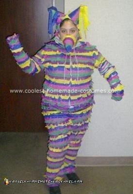 Homemade Piñata Costume