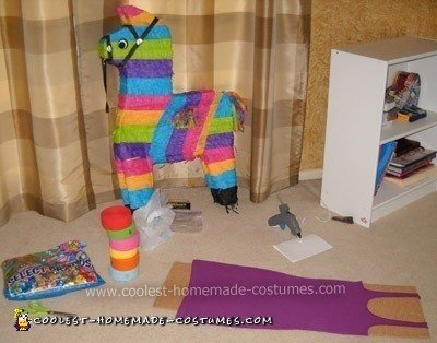 Piñata Couple Costume - supplies