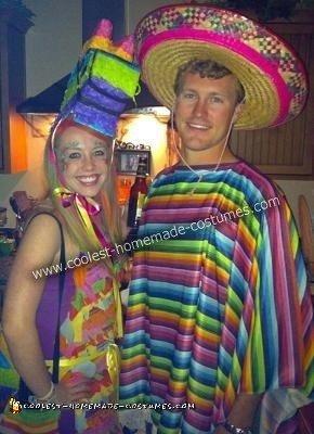 Piñata Couple Costume