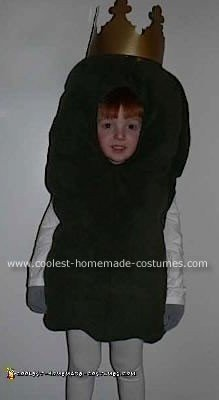 Homemade Pickle King Costume