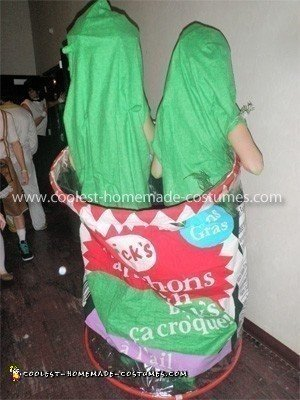 Coolest Pickle Couple Costume