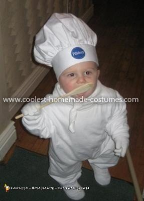 Coolest Pillsbury Doughboy Baby Costume 6