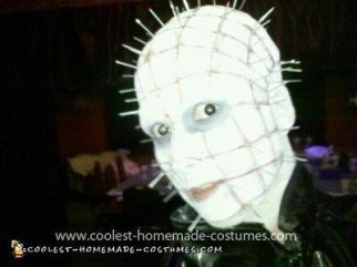 Homemade Pinhead Girl Costume