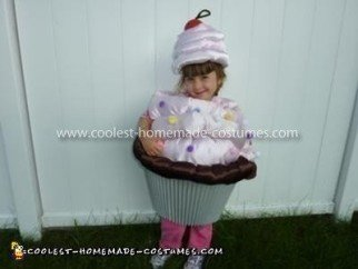 Coolest Pink Chocolate Cupcake Costume