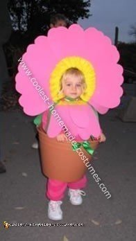 Little Pink Daisy Costume