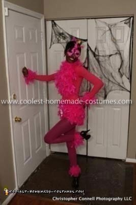Coolest Pink Flamingo Adult Costume