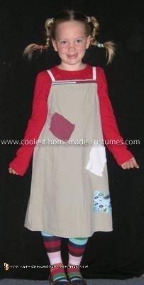 Homemade Pippi Longstocking Costume