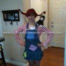 Coolest Pippi Longstocking Costume