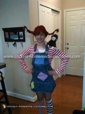 Coolest Pippi Longstocking Costume