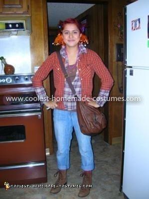 Homemade Pippi Longstockings Costume