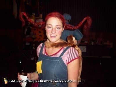 Homemade Pippy Longstockings Costume