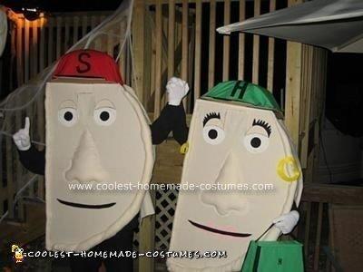 Jalapeño Hanna and Sauerkraut Saul Costumes