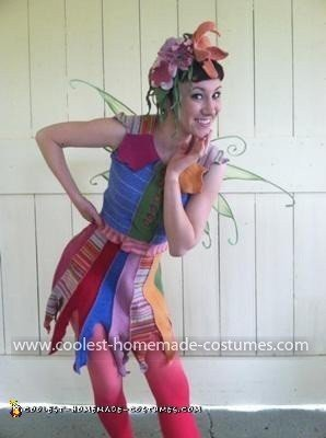 Homemade Pixie Costumes