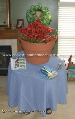 Table Top Plant Stand Costume