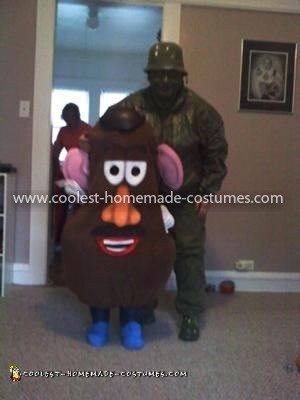 Coolest Plastic Toy Soldier Costume 22
