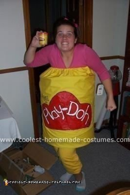 Homemade Play Doh Costume