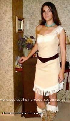 Homemade Pocahontas Costume