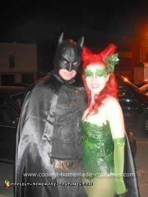Homemade Poison Ivy Costume