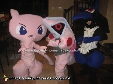 Pokemon Group Halloween Costumes