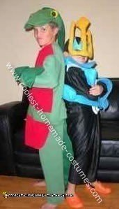 Grovyle and Empoleon Costume