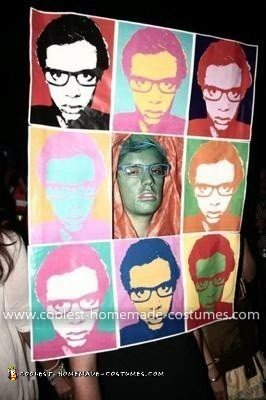 Homemade Pop Art Costume
