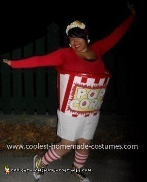 Coolest Popcorn Bucket Costume 22