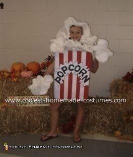 Courtney as Pop Corn