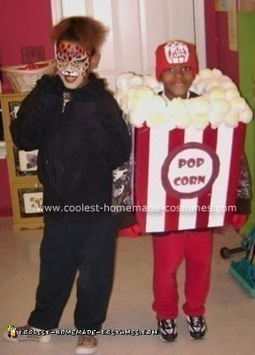 Popcorn Homemade Halloween Costume