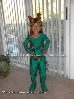 Posion Ivy Homemade Halloween Costume