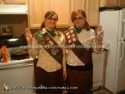 "Coolest ""Pot Brownie"" Couple Costume"