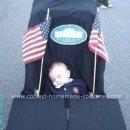 Homemade Presidential Baby Stroller Costume