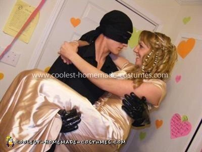 Homemade Princess Bride Buttercup and Westley Couple Costume