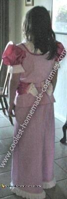 Coolest Princess Peach Costume - Backside