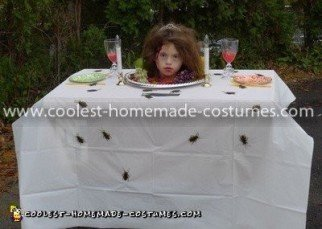 Coolest Prom Queen Head on a Platter Costume 37
