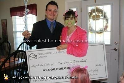 Coolest Publishers Clearing House Winner Costume