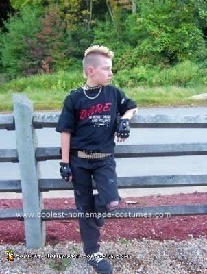 Homemade Punk Rocker Costume
