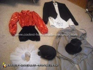 Homemade Puppet Master and Puppet Couple Costume