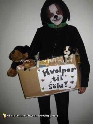 Homemade Puppies for Sale Costume