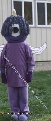 Homemade Purple People Eater Costume