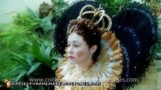 Homemade Queen Elizabeth I Costume
