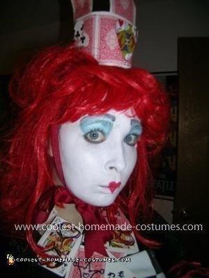 Homemade Queen Of Hearts Costume