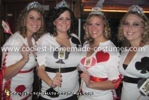 Homemade Queens of the Deck Group Costumes