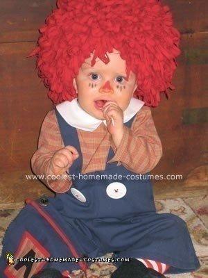 Homemade Raggedy Andy Halloween Costume