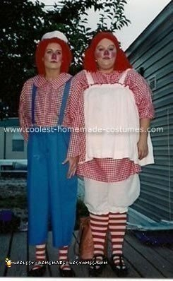 Coolest Raggedy Ann and Andy Costume