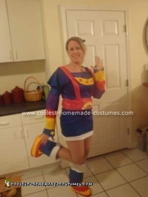 Rainbow Brite Homemade Halloween Costume